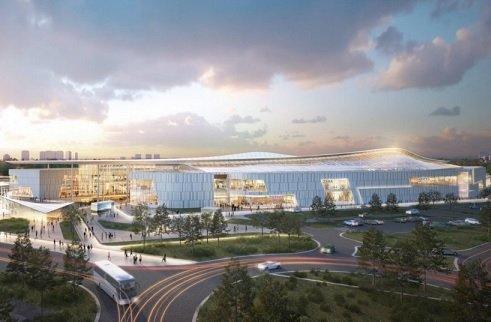 «Хорус» приступила к строительству крупного ТЦ в «Саларьево»