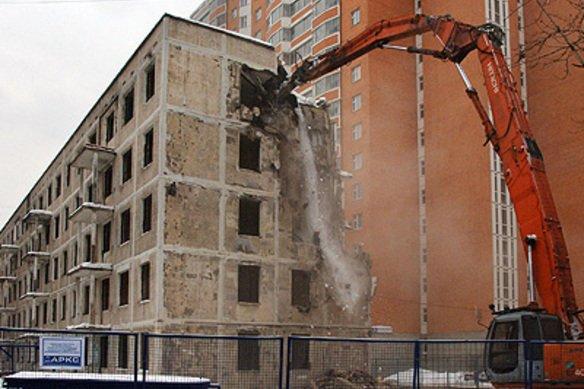 В Москве задумались о продолжении сноса пятиэтажек