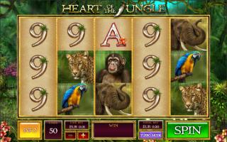 Многоуровневые игровые слоты: Heart of the Jungle