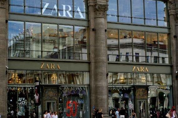 «Zara» сосредоточится на интернет-торговле и крупных магазинах