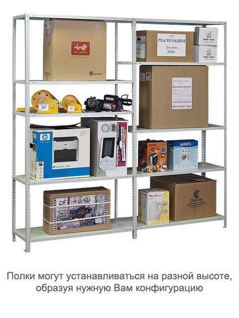 Стеллаж – оптимальное решения для складского помещения