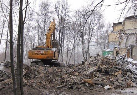 Демонтаж столичных пятиэтажек будет стоить городской казне 3,5 трлн рублей