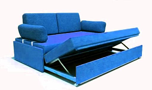 Механизмы раскладывания прямых диванов