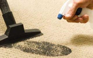 Как чистить ковер в домашних условиях