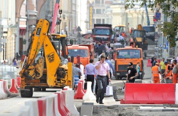 Реконструкция столичных улиц приведет к потерям для отдельных рестораторов