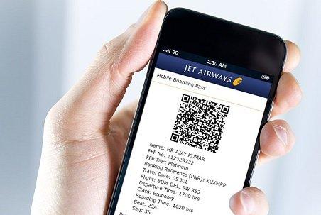 Столичные аэропорты начнут принимать электронные билеты на мобильных устройствах