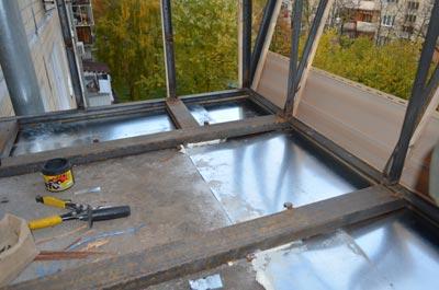 Как лучше сделать вынос балкона