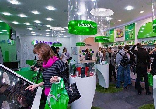 ВIквартале «Мегафон» закрыл около 400 салонов
