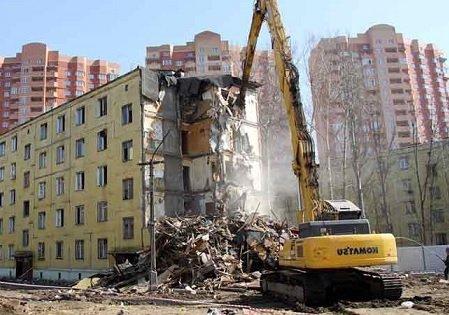 Снос пятиэтажек в столицеРФ: Комитет Совфеда одобрил закон ореновации жилого фонда