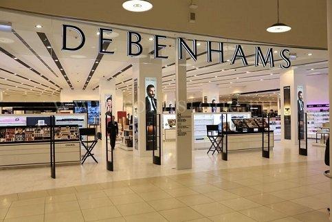 Универмаг Debenhams в Москве будет переименован в Stockmann