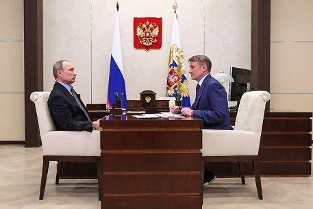 Г. Греф рассказал Путину о технологиях искусственного интеллекта