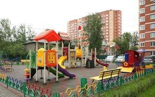 Благоустройство территории: детская площадка
