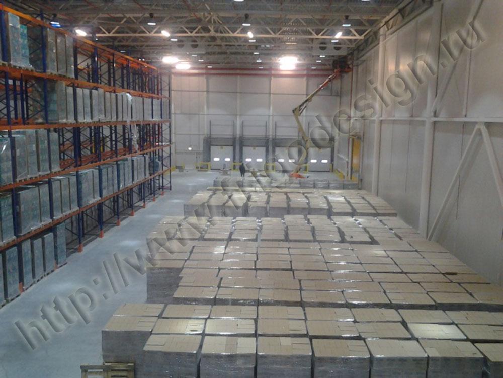 Холодоснабжение складов: особенности температурных условий для хранения продуктов