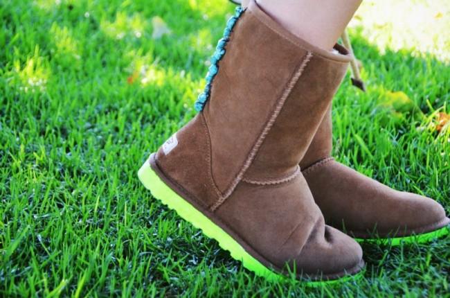 Как правильно ухаживать за зимними ботинками УГГИ