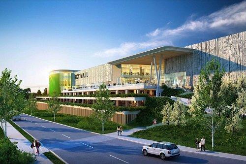 Американский фонд Hines отказался от возведения ТЦSky Mall