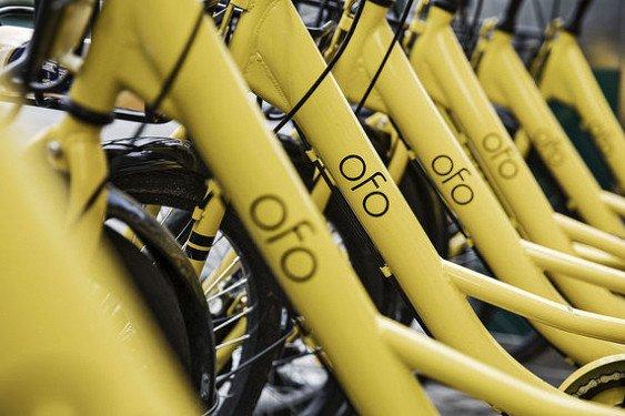 «Ofo» развернет в столице систему велопроката
