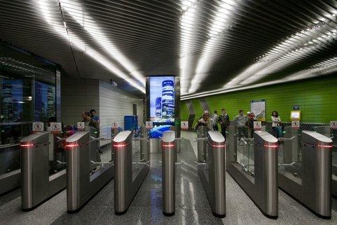В метро может быть запущена система распознавания лиц с целью быстрой оплаты проезда