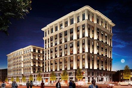 На Тверской улице появится новая пятизвездочная гостиница с апартаментами