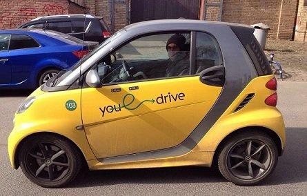 YouDrive намерен повысить тарифы для нерадивых водителей