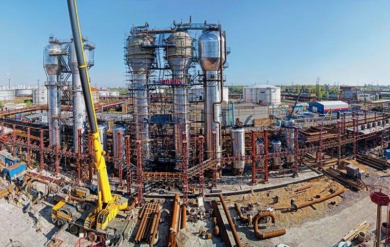 «Газпром» вложит впереработку нефти наМНПЗ 120 млрд рублей