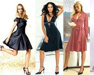 Модели платьев для невысоких женщин