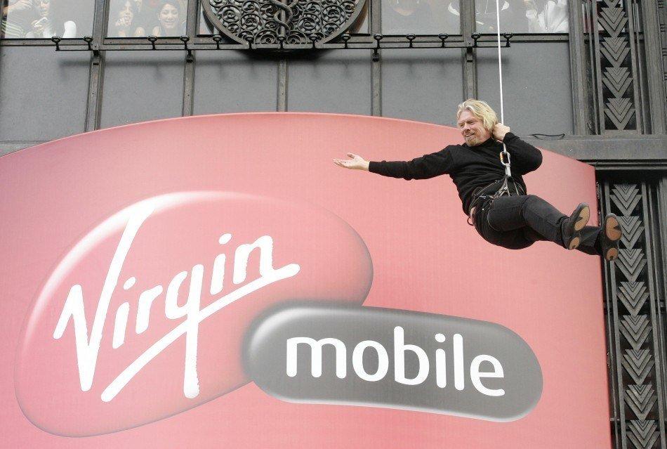 В РФ запустят виртуальный сотовый оператор под брендом Virgin миллиардера Ричарда Брэнсона