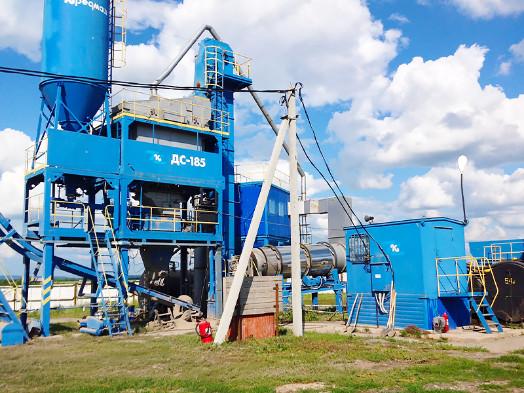 Асфальтобетонный завод ДС 185 и бизнес в дорожном строительстве
