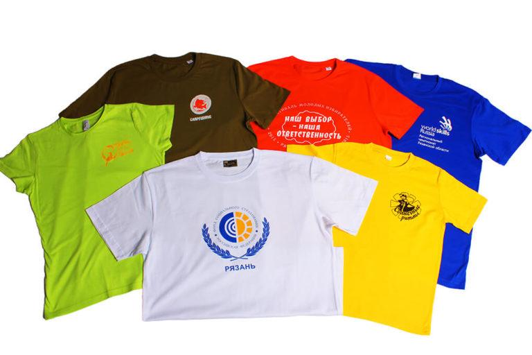Футболки с логотипом компании – фирменный стиль в деталях
