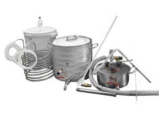 Какое нужно оборудование для домашнего пивоварения?