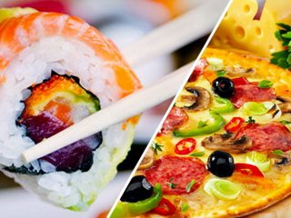 Доставка пиццы и суши