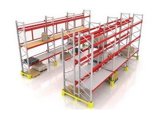 Фронтальные стеллажи – отличное решение для хранения складских грузов