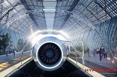 Hyperloop рассматривает возможность строительства в РФ высокоскоростной железной дороги