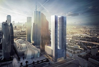 Новый собственник Grand Tower решил увеличить площадь высотного здания