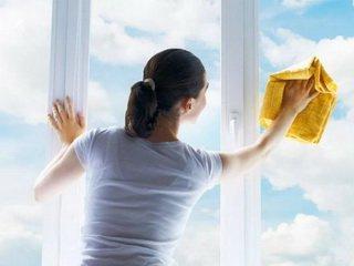 Весна - время мыть окна