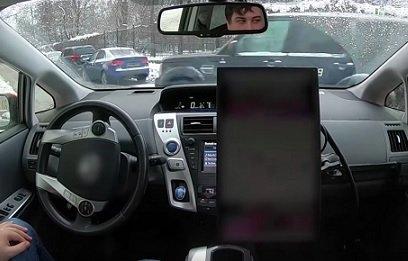 «Яндекс» испытал беспилотник на заснеженных автодорогах Москвы
