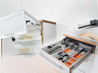 Замена мебельной фурнитуры в рамках проведения ремонтных работ на кухне