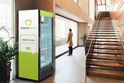 Delivery Club приступил к тестированию вендинговых автоматов с готовыми блюдами