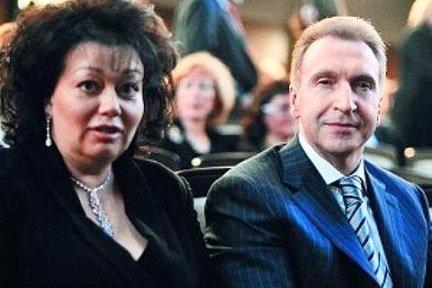 О. Шувалова оказалась самой состоятельной супругой в правительстве