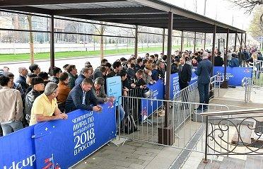 В столице РФ стартовали прямые продажи билетов на футбольный чемпионат