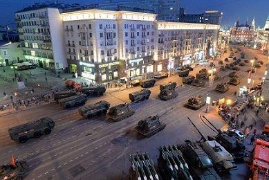 Стоимость парада в Москве составит 615 млн рублей