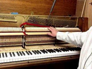 Как настроить пианино для игры?