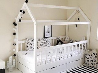 Детская кровать-домик – ребенок останется довольным