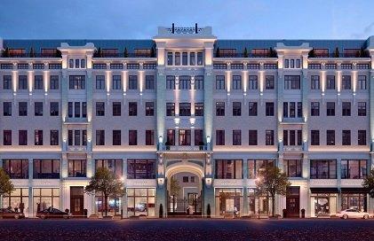 Арендный дом на Большой Дмитровке превратят в премиальный апарт-комплекс