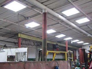 Светодиодное освещение в промышленной сфере: плюсы и виды светильников