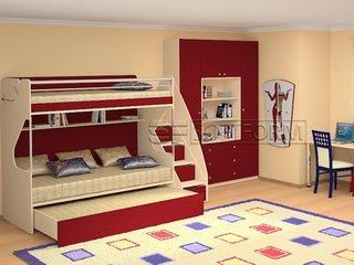 Бесплатный выезд дизайнера при заказе детской мебели