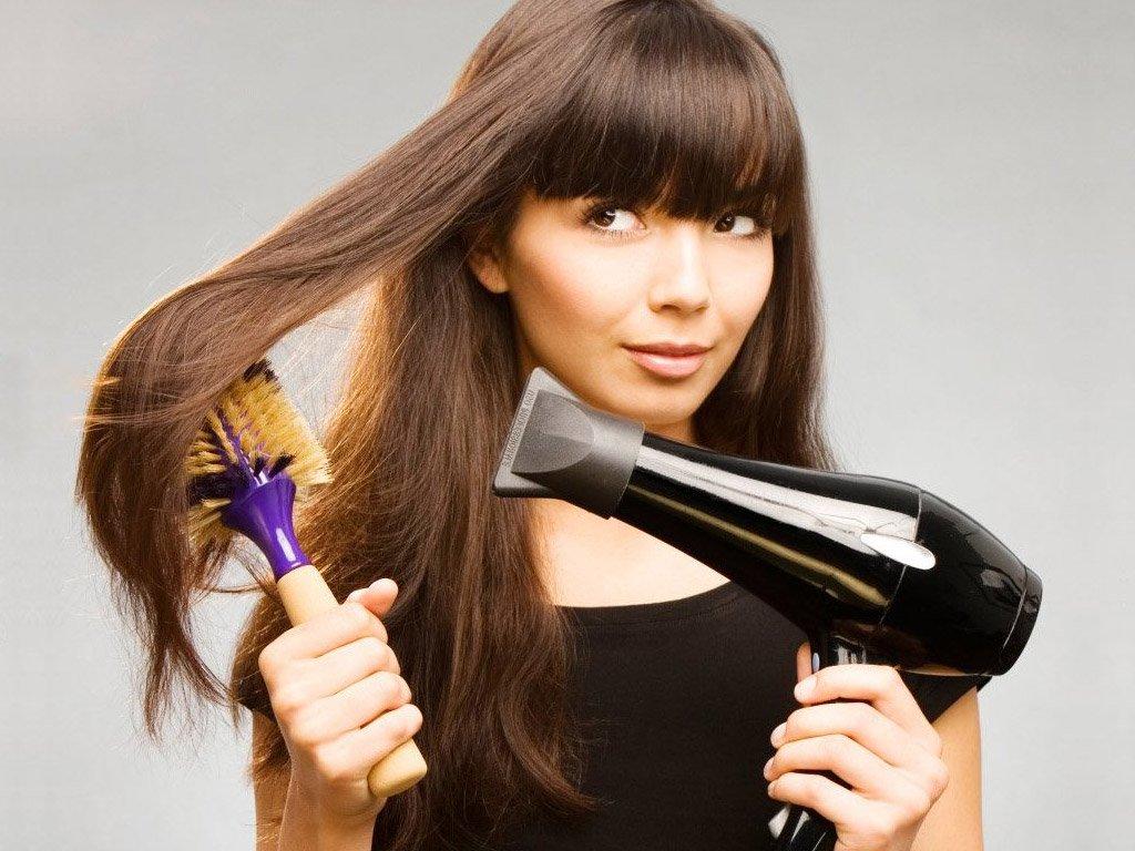 Как выпрямить волосы феном в домашних условиях