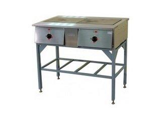 Плиты для профессиональной кухни