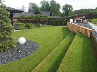 Рулонный газон под ключ:лучшие материалы для создания покрытия, цена, гарантии