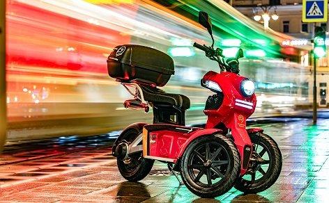 В Москве начал работу пробный шеринг скутеров