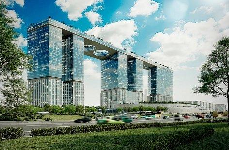 На Кутузовском проспекте возведут башни, объединенные террасой